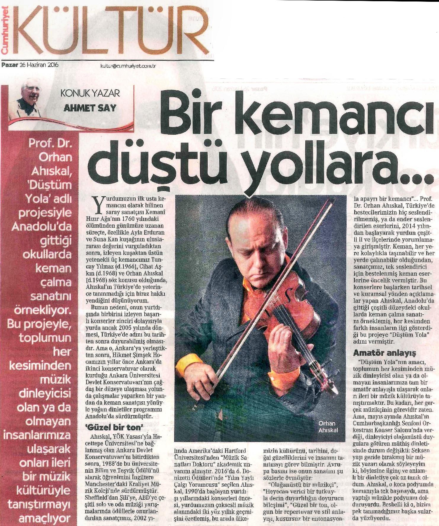 2016.06.26 Cumhuriyet (Ahmet Say)