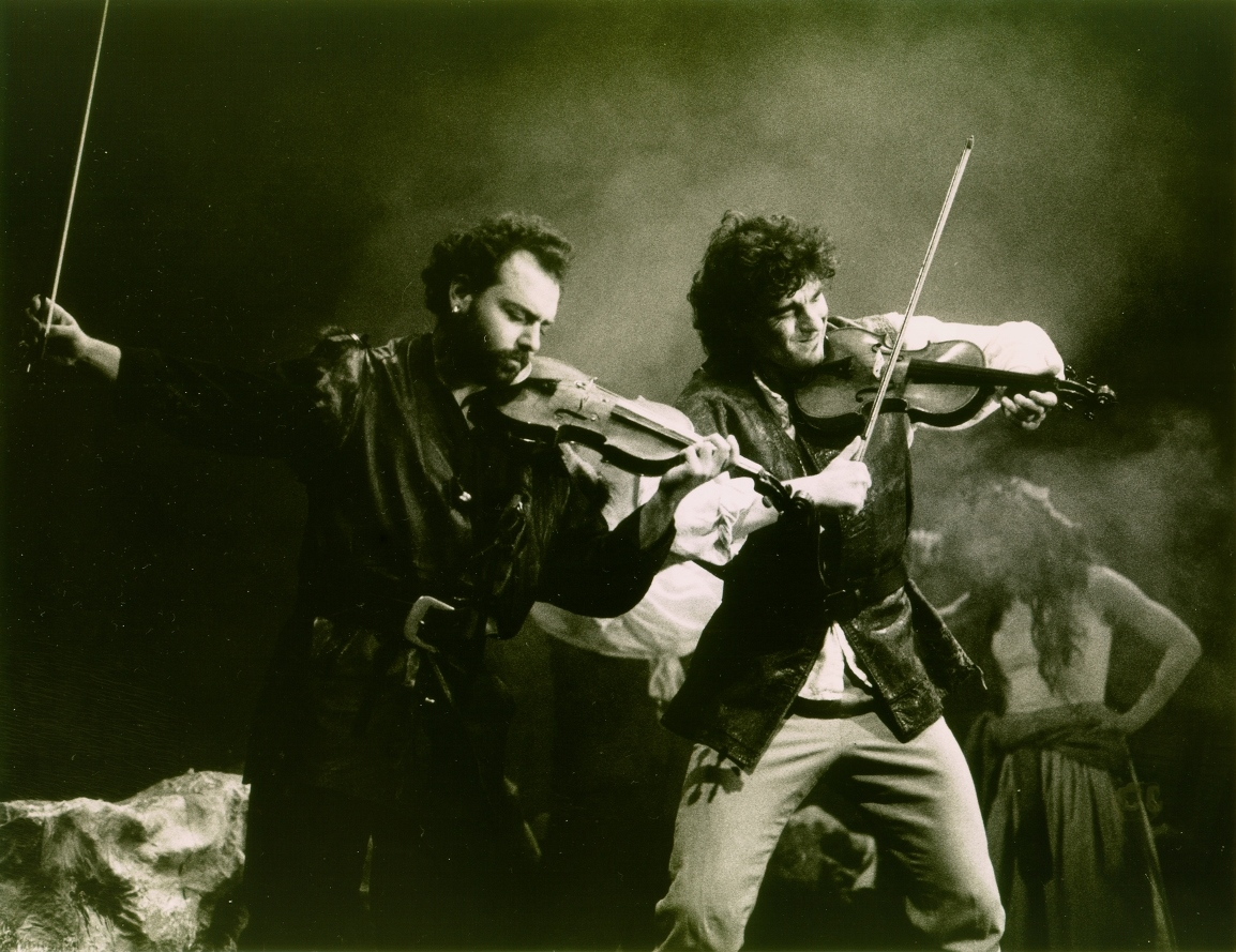 Ahıskal as John Gray with Daniel Hoadley as John Clare, RNCM, 1995