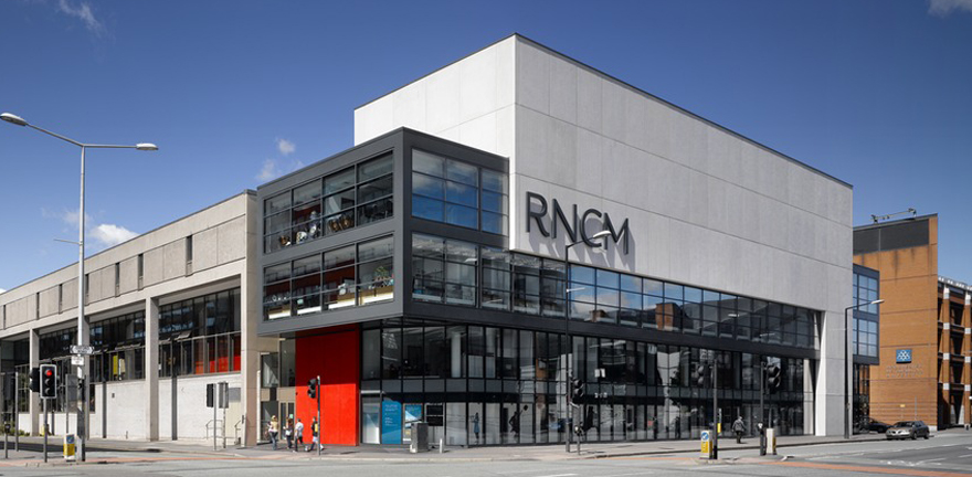 RNCM after the addition of the glass box