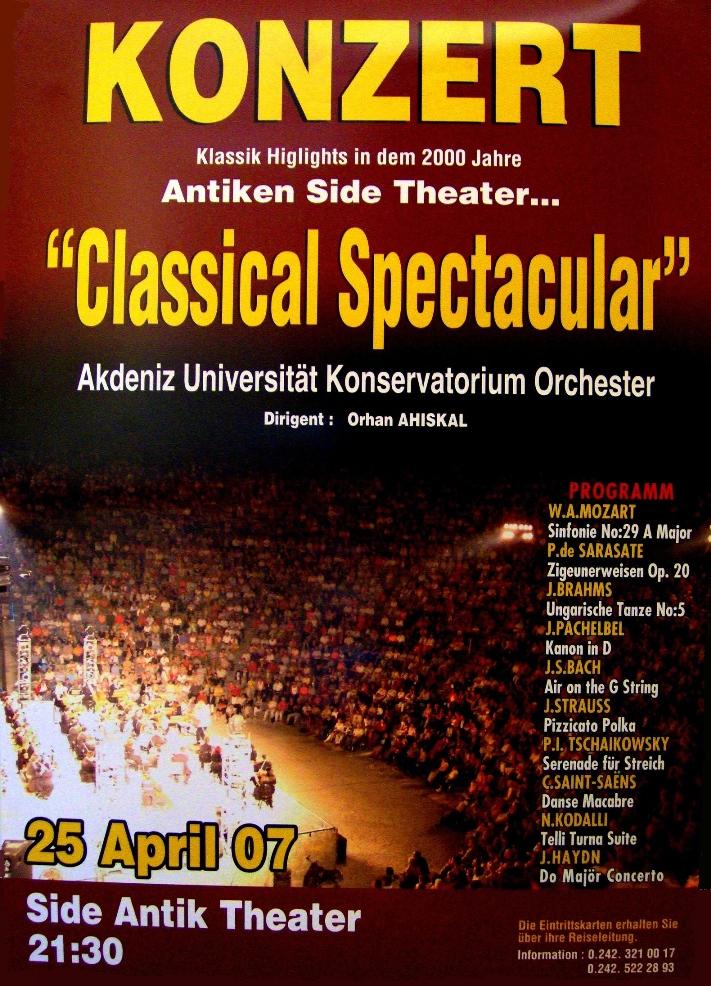 2007.04.25 ADKO Side Antik Tiyatro konseri