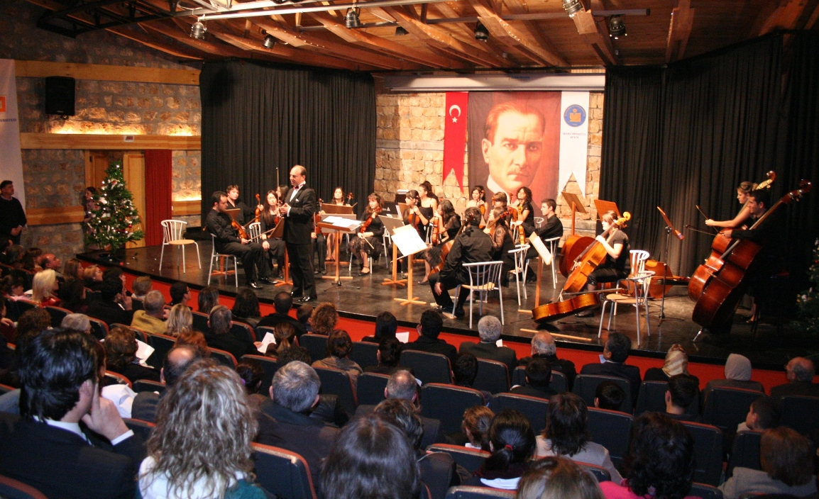 New Year's Concert, Akdeniz University Olbia Center, 2007