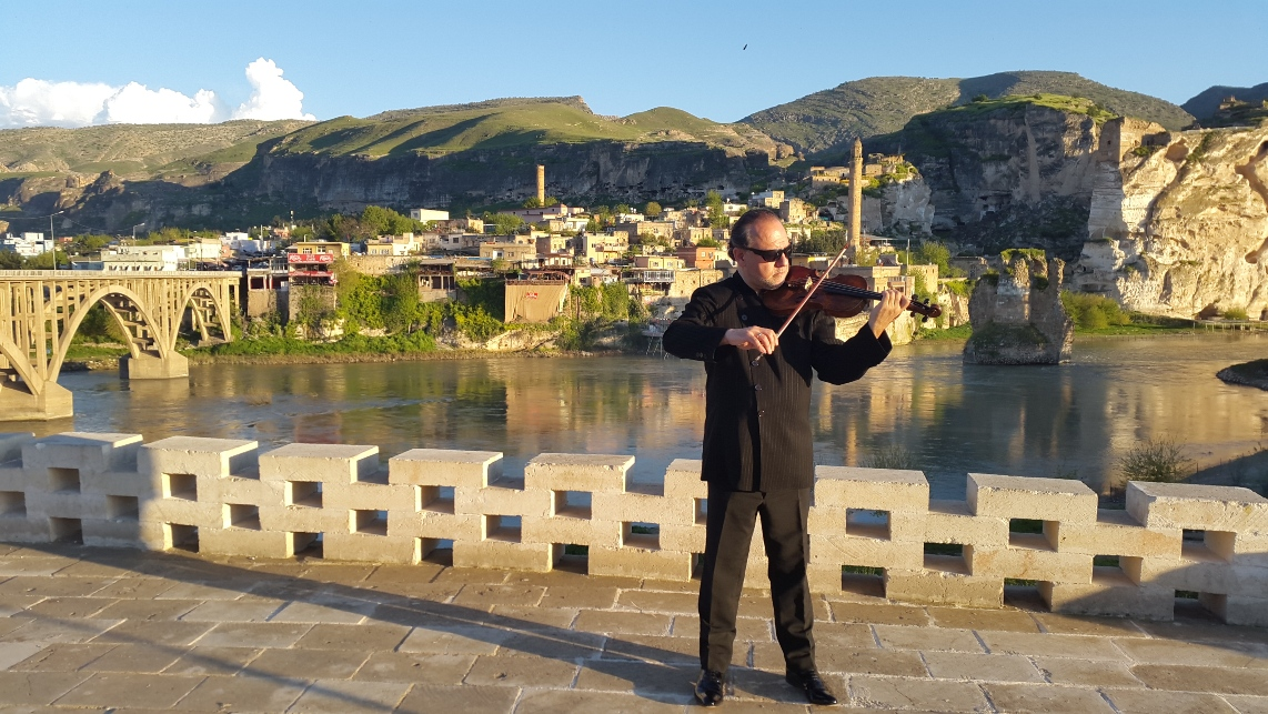 Backstage at Hasankeyf!